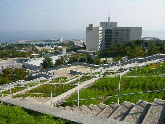 「百段苑」からの眺め