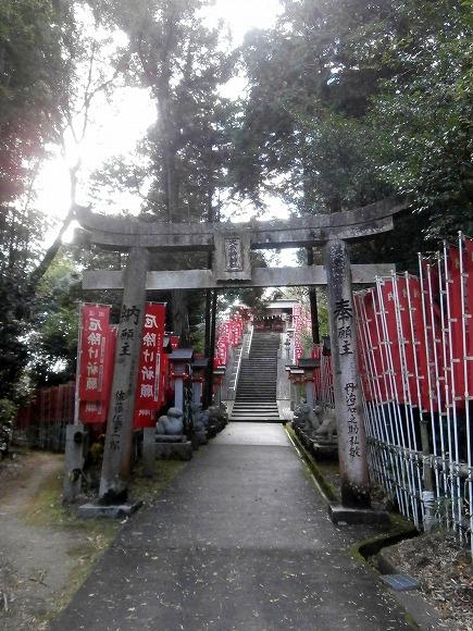 十二神社への参道