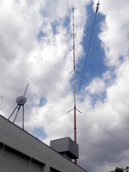 ラジオ送信アンテナ