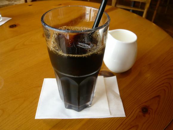 有機アイスコーヒー450円