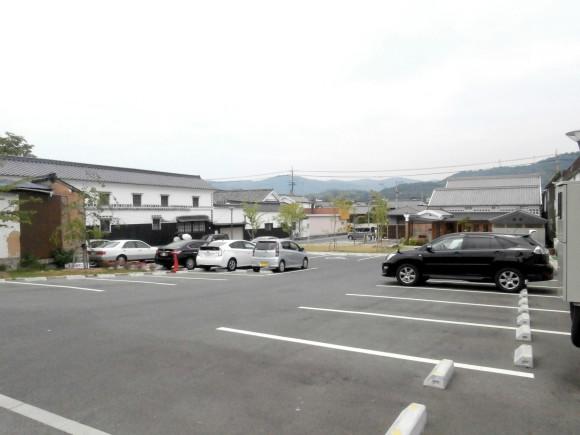 矢掛屋 駐車場