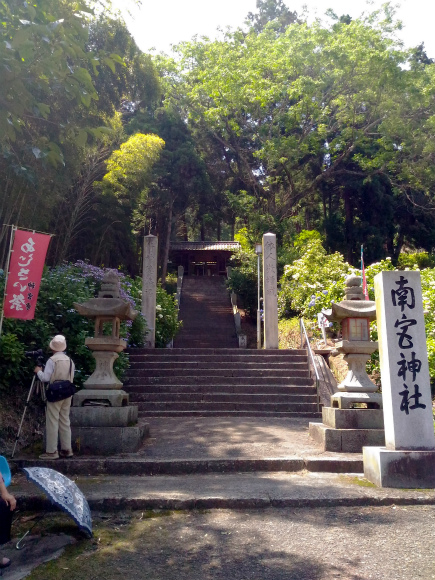 神宮寺のあじさい祭り