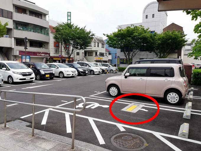 笠岡駅前広場駐車場