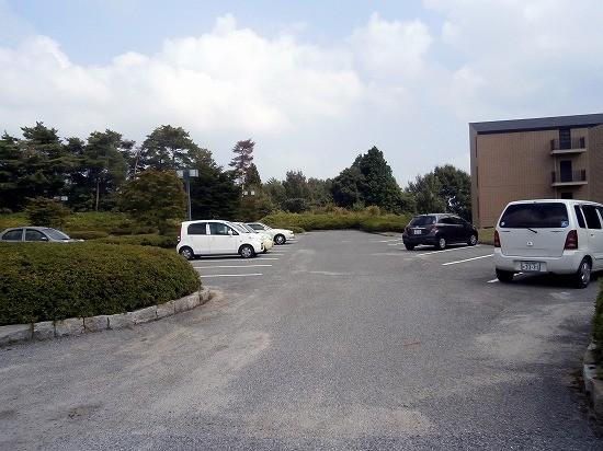 神石高原ホテル駐車場