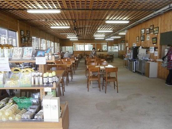 世羅高原農場のレストラン店内