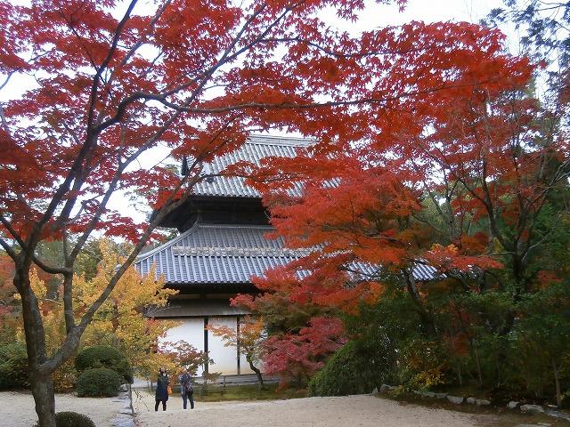 仏殿の裏側
